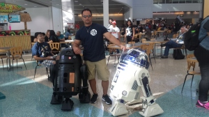 Me and 2 R2D2s