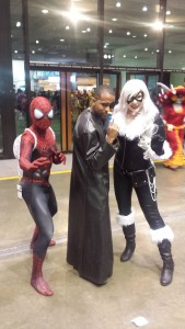 Spiderman, Nick Fury, Black Cat
