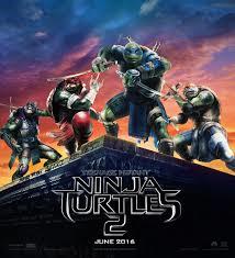 Left: Donatello, Raphael, Leonardo, Michelangelo